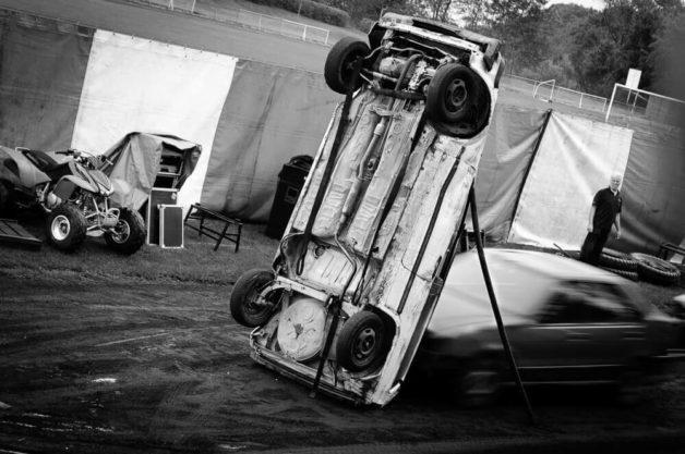 Pokaz grupy kaskaderskiej Monster Truck - Traber
