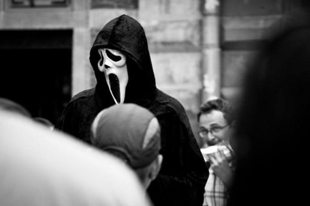 Przebieraniec na ulicach Gdańska
