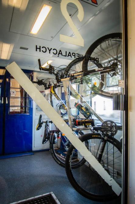 Przewóz rowerów w pociągu