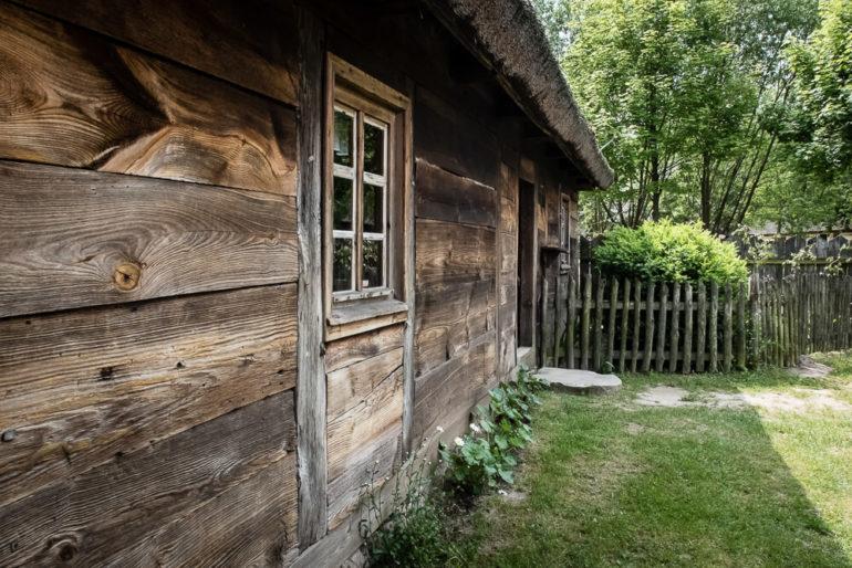 Zabytkowa chata