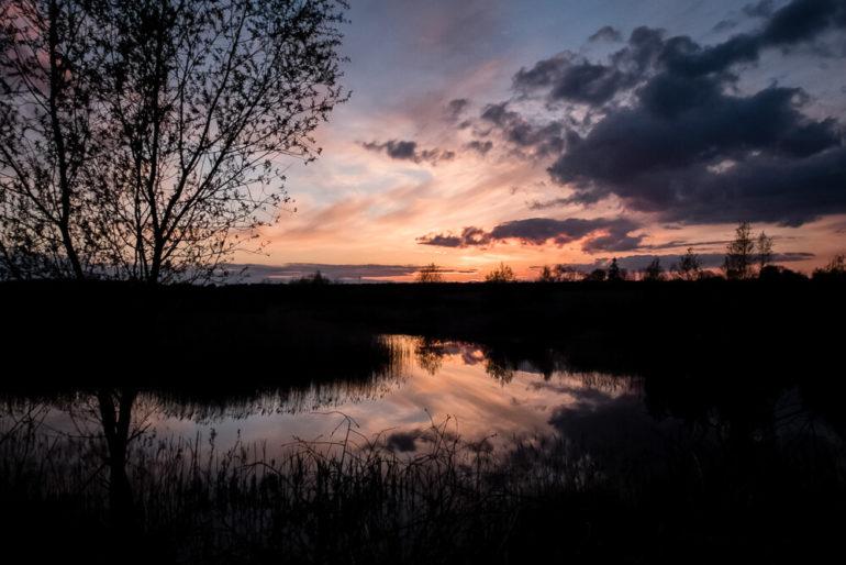 Zachód słońca - Wymysłowo
