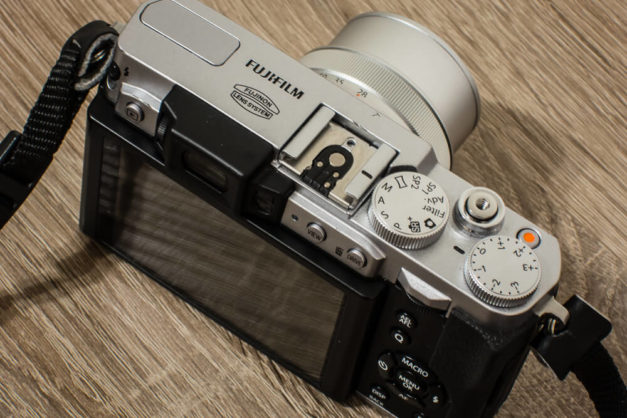 FujiX30 - widok z góry