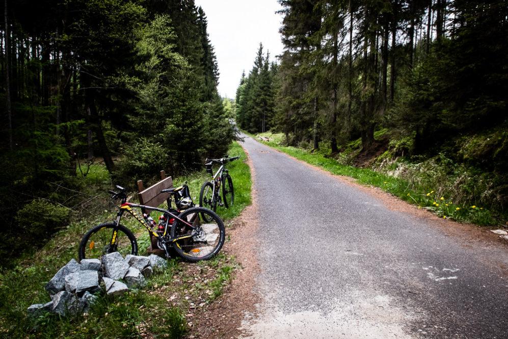 Park Narodowy Czeska Szwajcaria - droga