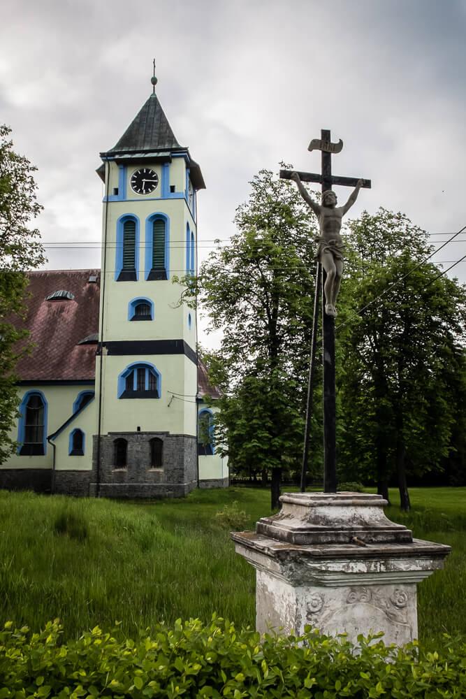 Rybniště - Kościół pw. Św. Józefa