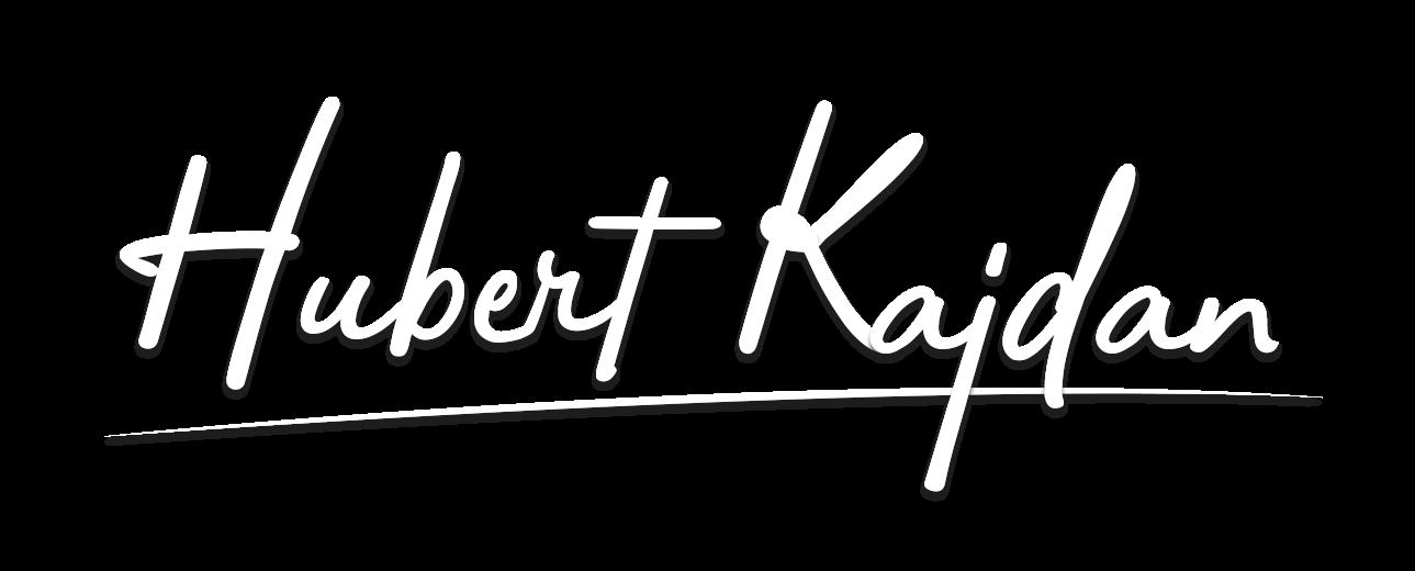 Hubert kajdan - Logo