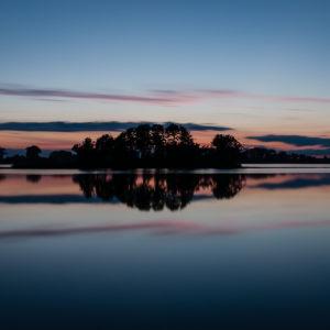 Jezioro Lednickie - wyspa