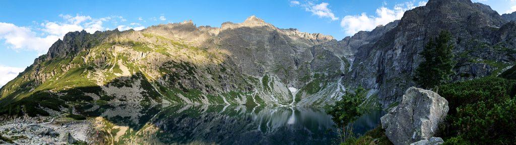 Zdjęcie panoramiczne - Tatry
