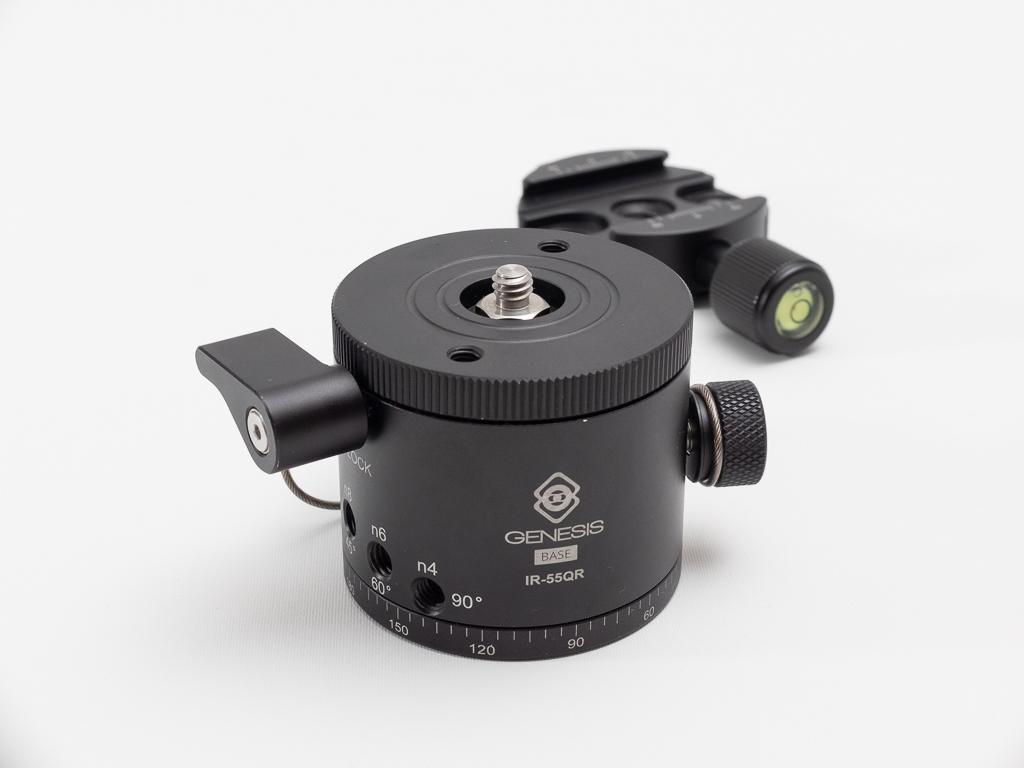 Genesis Gear IR-55QR - po odkręceniu mocowania płytek w standardzie Arca-Swiss