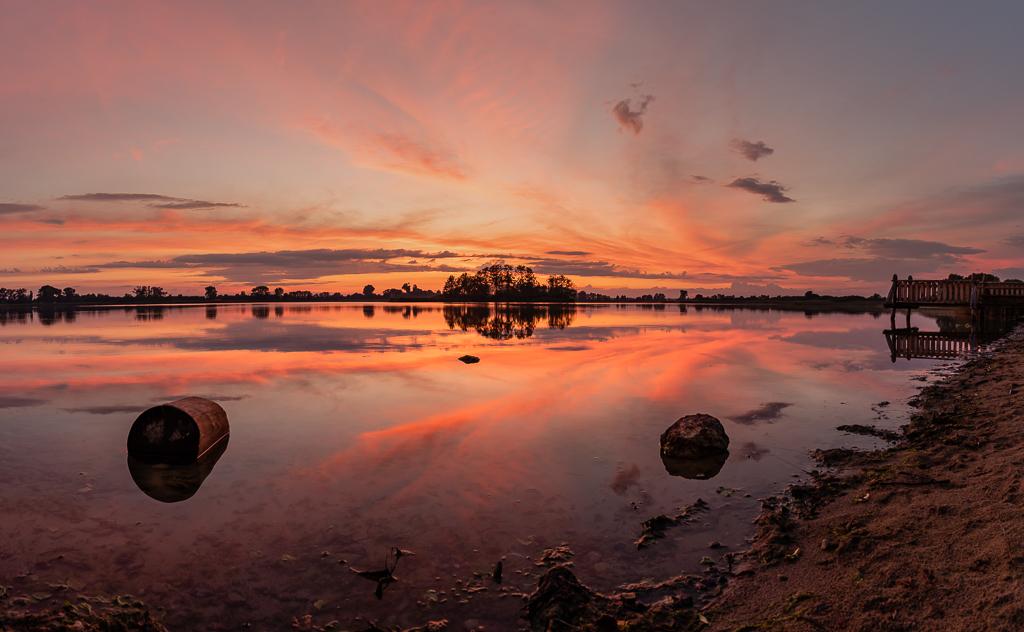 Jezioro Lednickie - panorama
