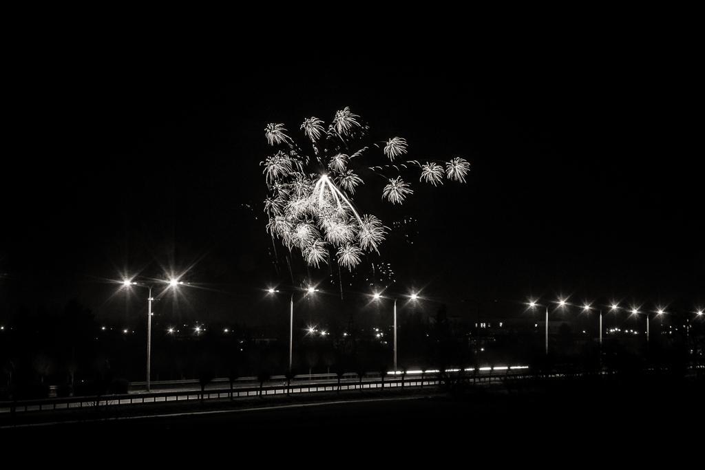 Sztuczne ognie - fotografowanie